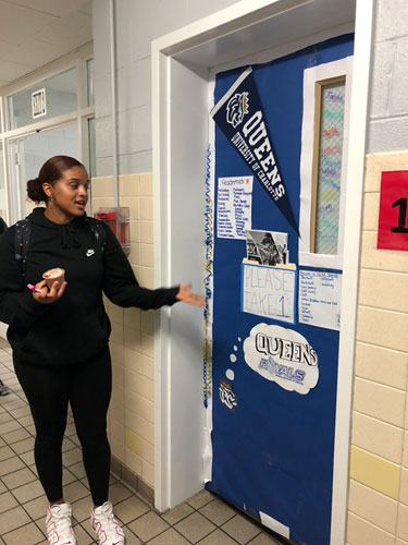 College Door Decorating Contest at Eugenio Maria de Hostos Charter School, October 2nd