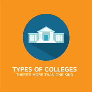 Types of colleges, there's more than one kind.